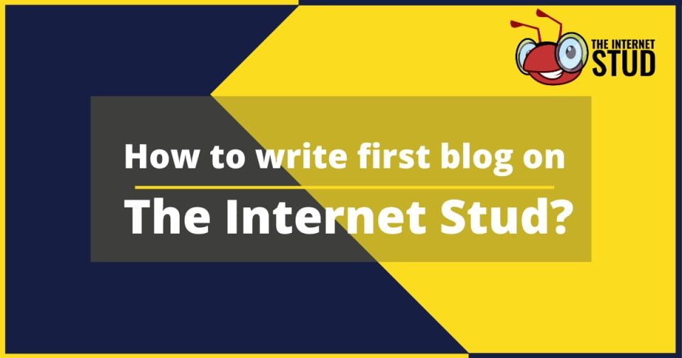 How to write first blog on TIS