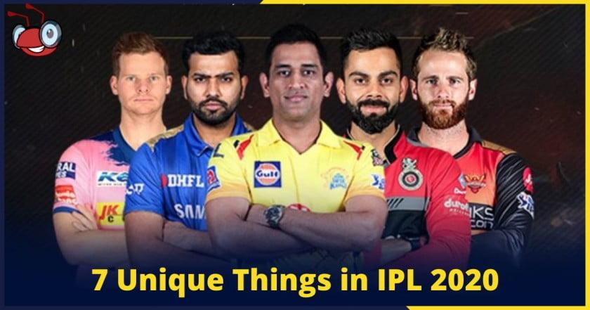 7 Unique things in IPL t20