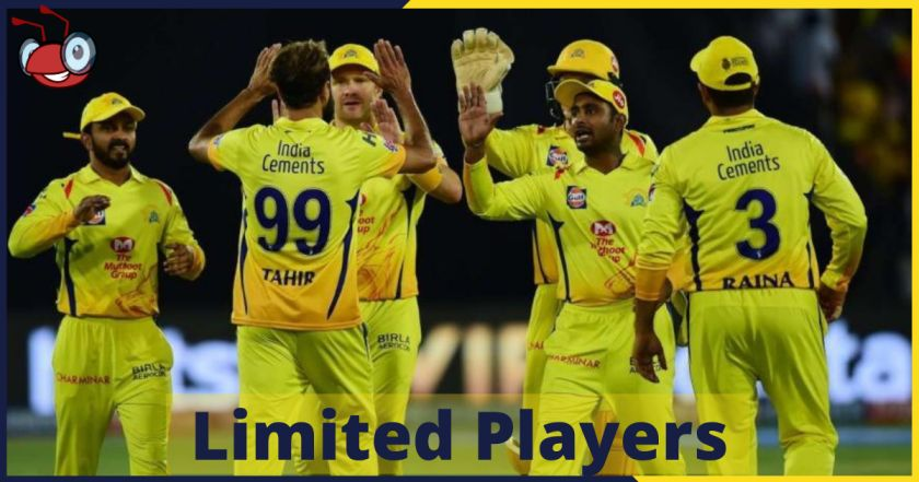 Limited player in IPL t20