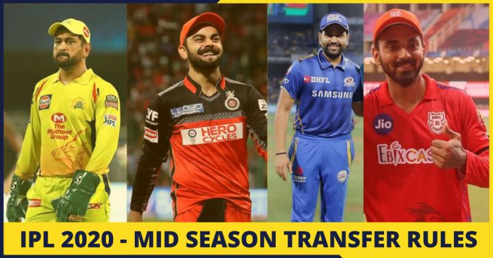 IPL Mid Season Transfer Rules, Players and Teams - Full Report