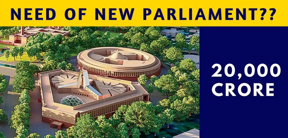Rs 971 Crore India's New Parliament Building: Everything You Need To Know
