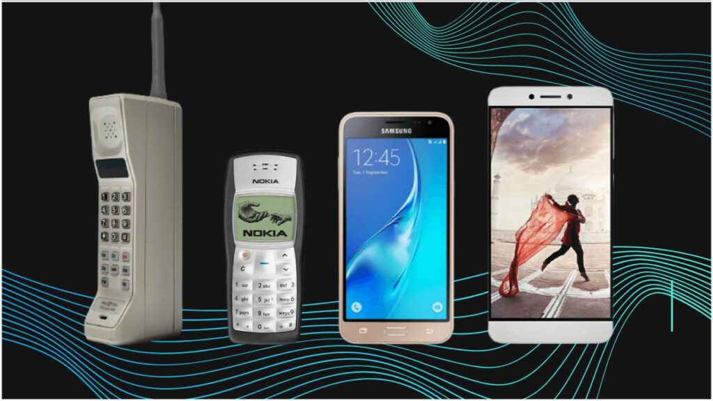 5G network mobile phones