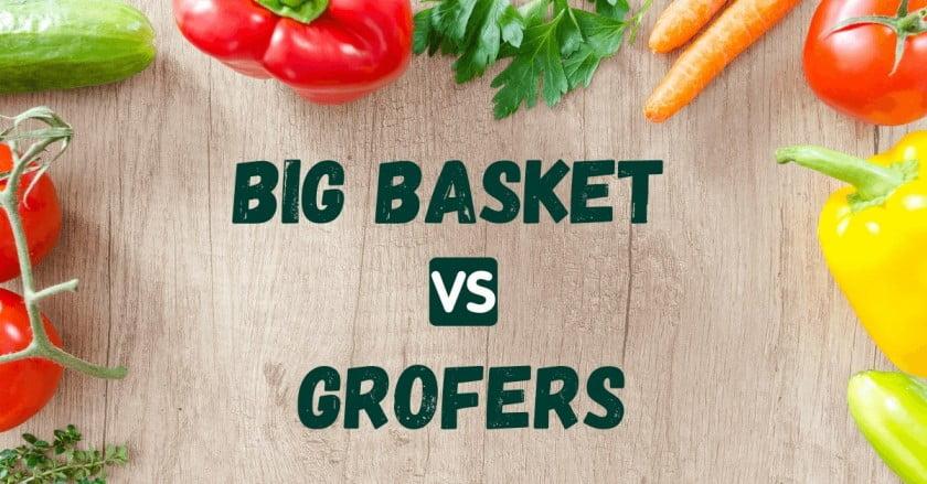 bigbasket vs grofers