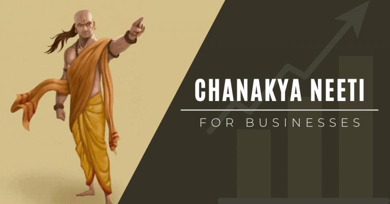 Chanakya niti for businesses